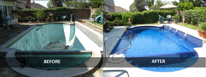 Pool remodeling sandcastle dream pools for Pool redesign